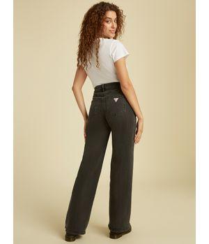 Jeans Guess Go Yc Wide Leg Blk Pant G9L6 Gris